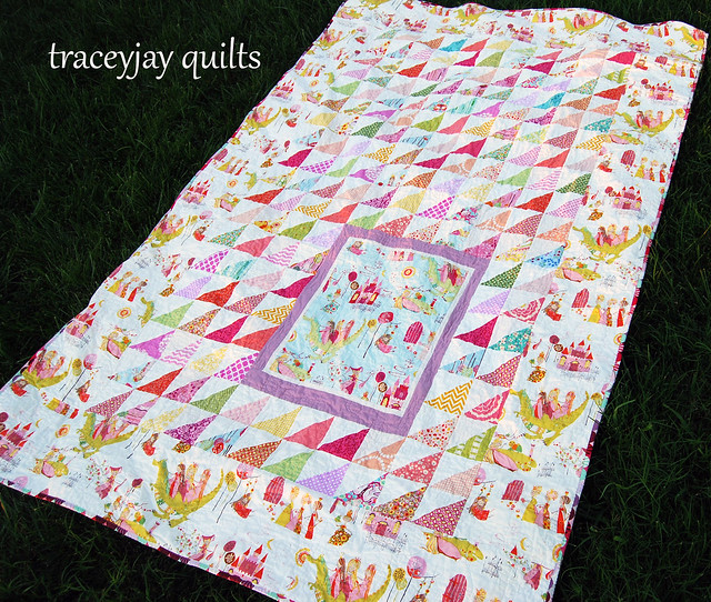 Kiley's custom quilt