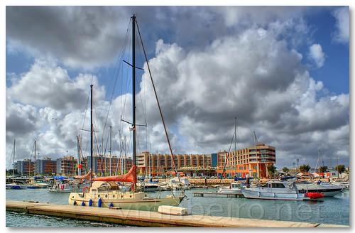 Marina de Olhão by VRfoto