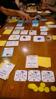 Galactic Contractors at Newcastle Playtest