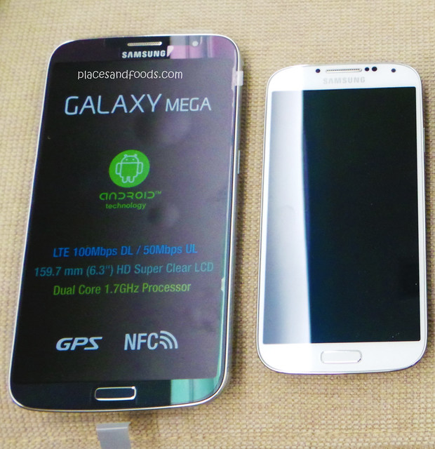samsung mega s4 comparison
