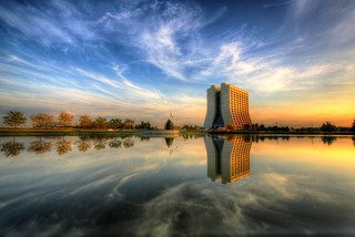 Reflections on a Fermilab Sunset