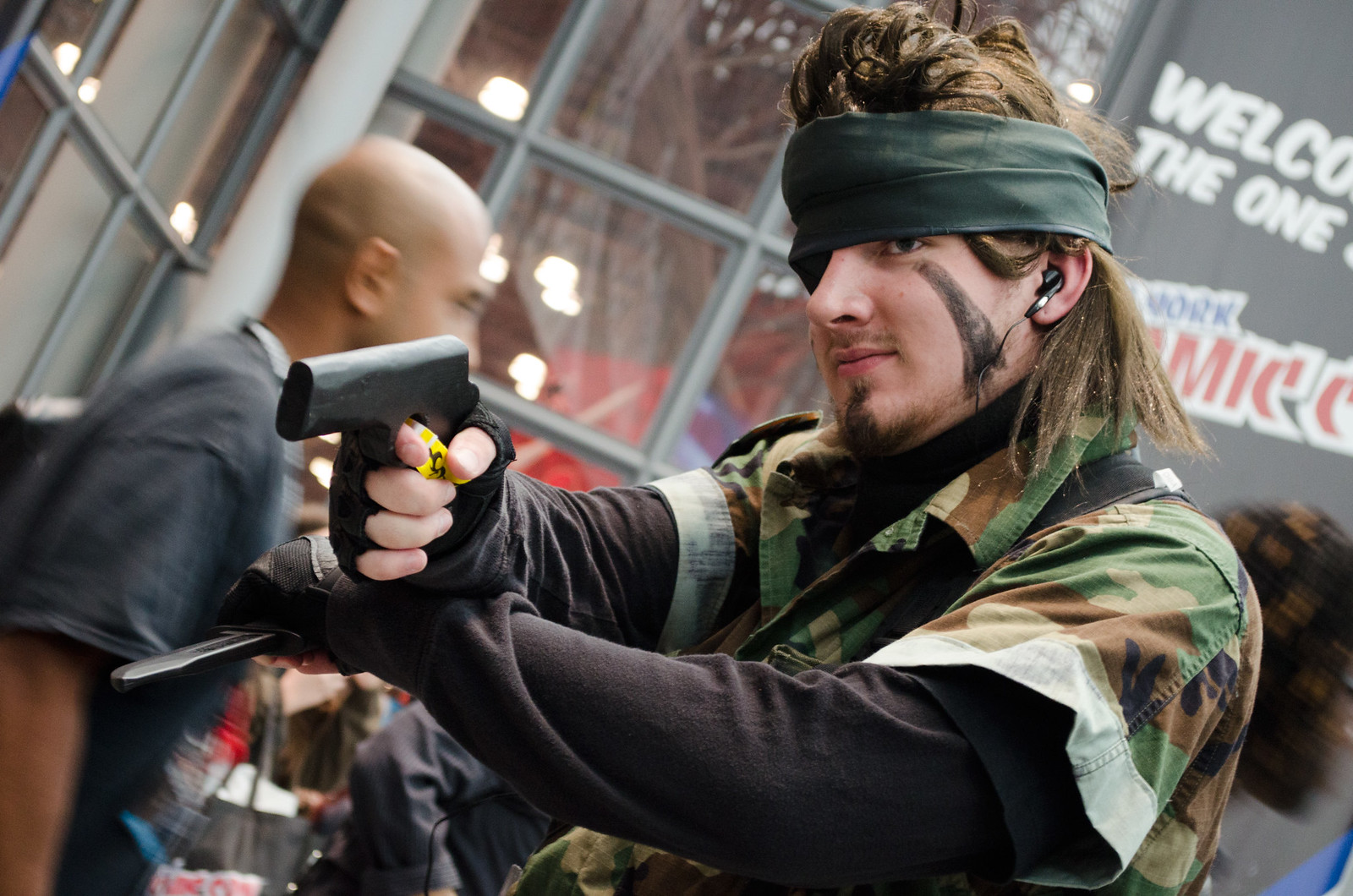Metal Gear Cosplay NYCC 2013