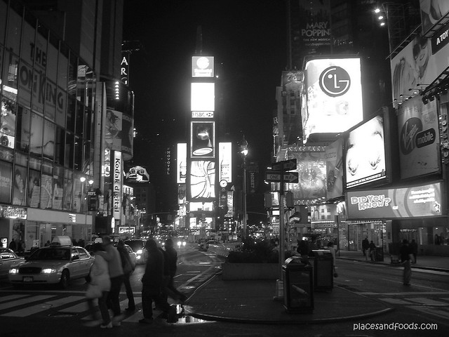 new york bw times square