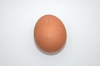 10 - Zutat Hühnerei / Ingredient egg
