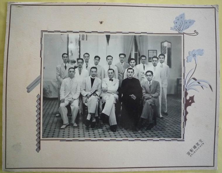 Copy of Religieux francais et chinois à FORT BAYARD 1940 194
