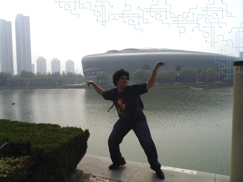 Isso não é kung fu, é dança do siri mesmo kkk Porque não ia ter muita graça mostrar apenas o estádio olimpico
