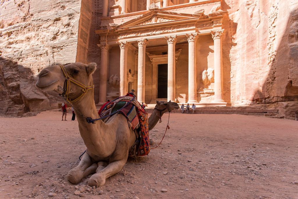 """Petra, Jordan - Al Khazneh (""""The Treasury"""")"""