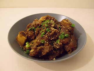 Makgalbijjim (Korean Braised Beef Short Ribs)