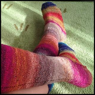 Meias altas. #meias #tricot #malha #socks