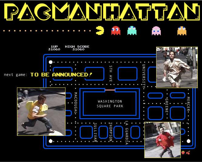 Screenshot of PacManhattan