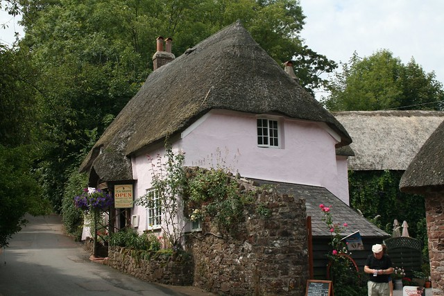 Thatched tearoom - Cockington, Devon