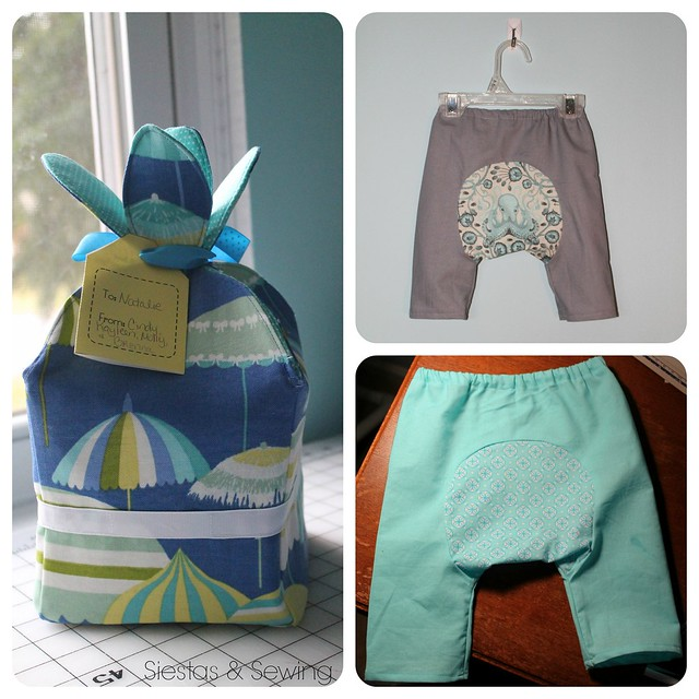 baby gift collage