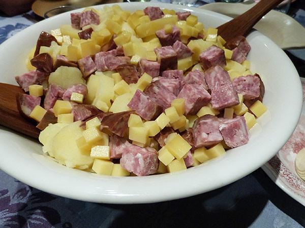 pommes de terre, morteau et comté