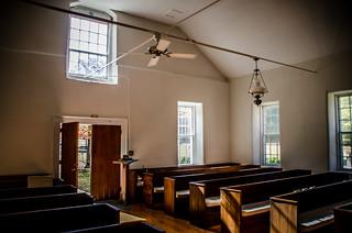 Duncan Creek Presbyterian Church Interior