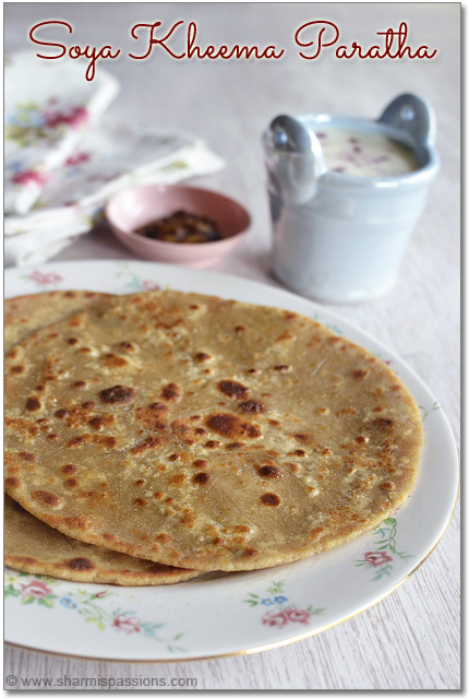 Easy Veg Keema Paratha Recipe