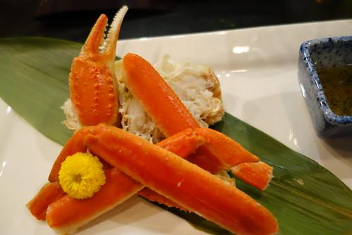 "Fukui ""live"" Echizen Snow Crab. IKYU"