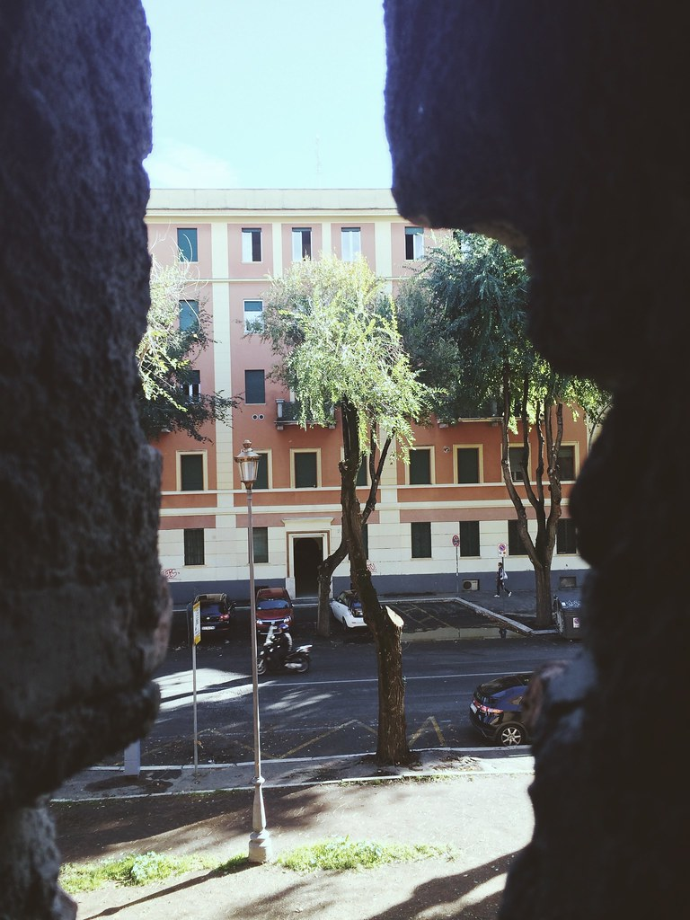 rome through my phone.
