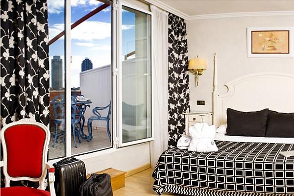 Salles hotel de Barcelona