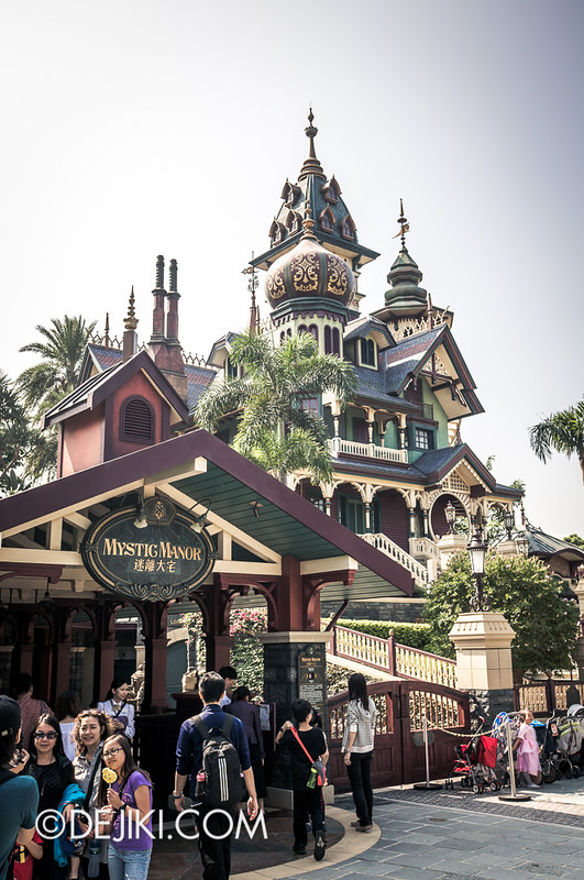 Mystic Manor - Exterior overview