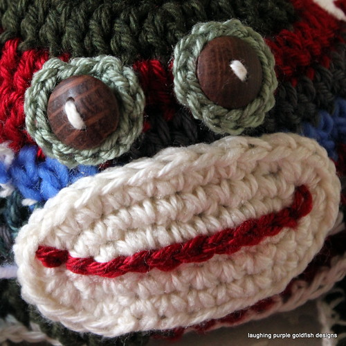 Alterations to Crochet Sock Monkey Hat