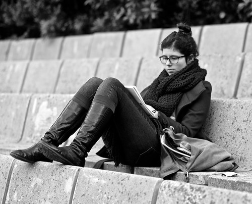 Photo:Studying Educational material By:pedrosimoes7