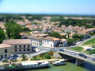 Tilt Shift - Aigues-Mortes