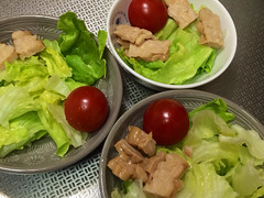 朝食サラダ 2013/11/24