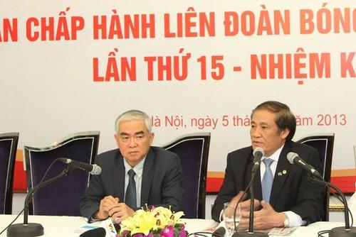 Chủ tịch VFF Nguyễn Trọng Hỷ từ nhiệm