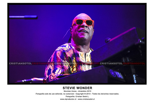 STEVIE WONDER EN CHILE 2013