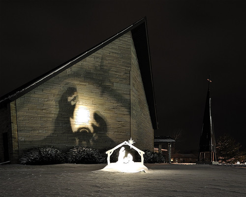 Nativity in Shadow