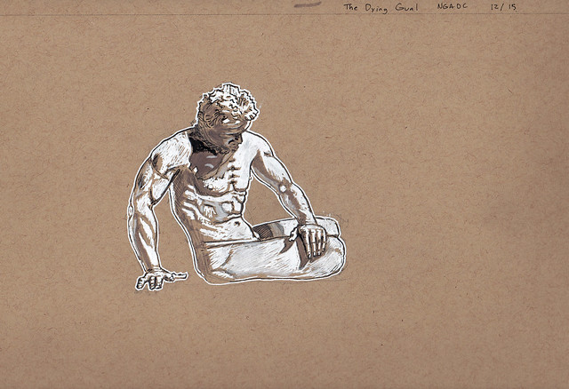 The Dying Gaul at NGADC