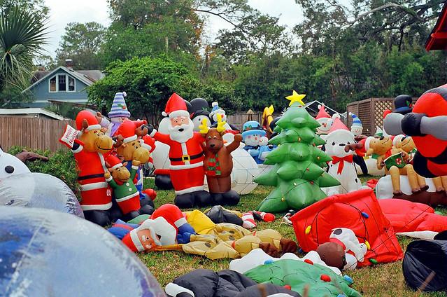 Christmas display at house riverside jacksonville Home and garden show jacksonville fl