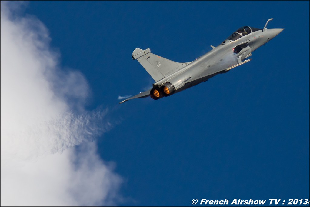 Rafale Solo Display 2013 , 60 ans Patrouille de France , Meeting Aerien 2013