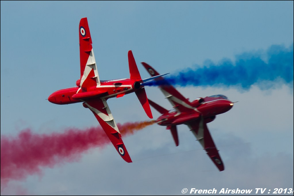 Red arrows at 60 PAF 2013
