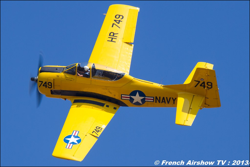 T-28 Trojan fox aero au Free Flight World Masters Valence 2013 par bleu ciel airshow 2013,