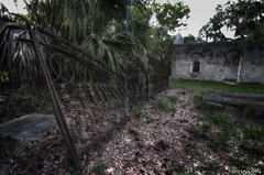 Fence ruins