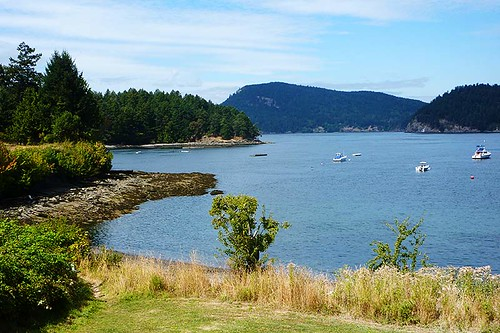Miners Bay, Mayne Island, Southern Gulf Islands, British Columbia