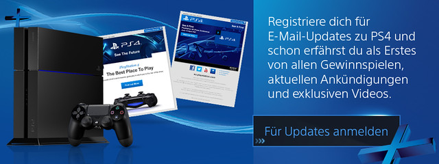 PlayStation 4 Newsletter
