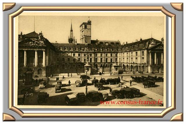 DIJON   (Côte-d'Or)   Ancien Palais des Ducs de Bourgogne   La Place d'Armes