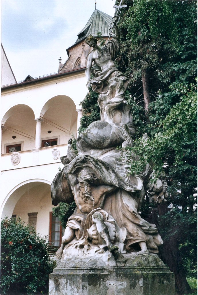 Bishop's courtyard, Brno