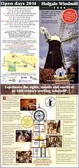 Holgate Windmill information leaflet 2014