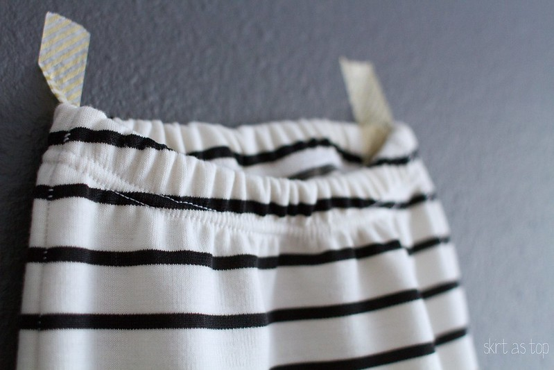 comfy stripe baby pants