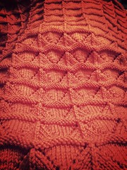 Cohen - Chang baby blanket detail