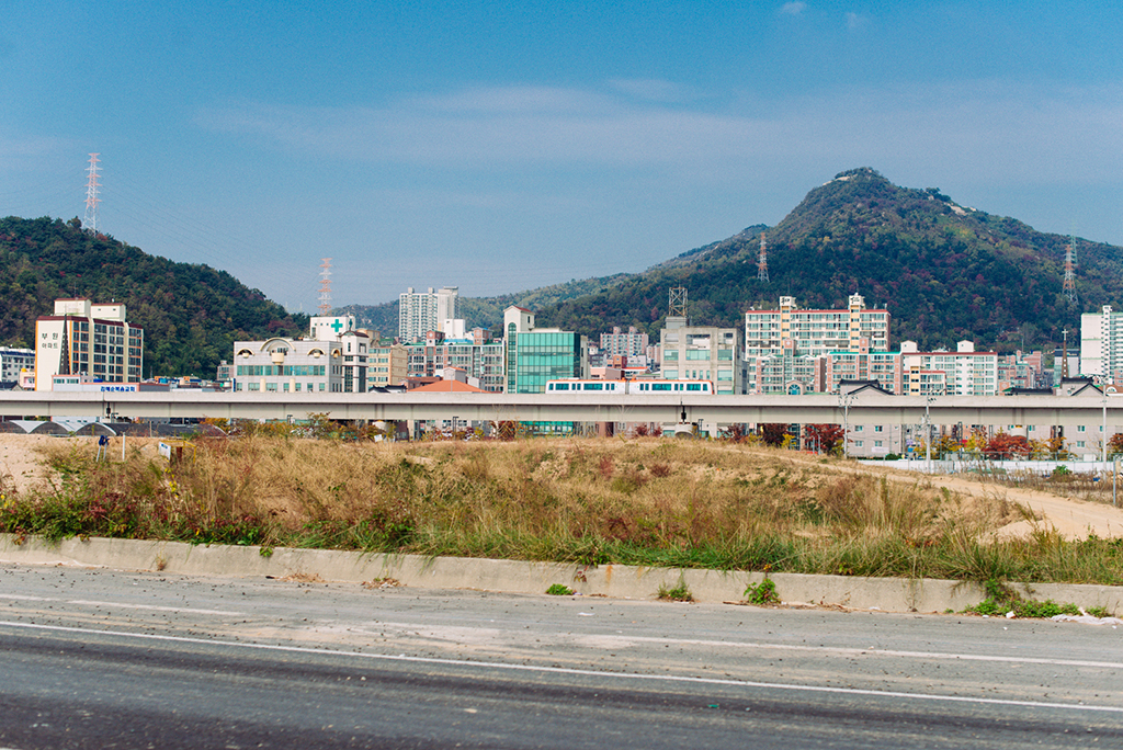 Driving to Yeosu