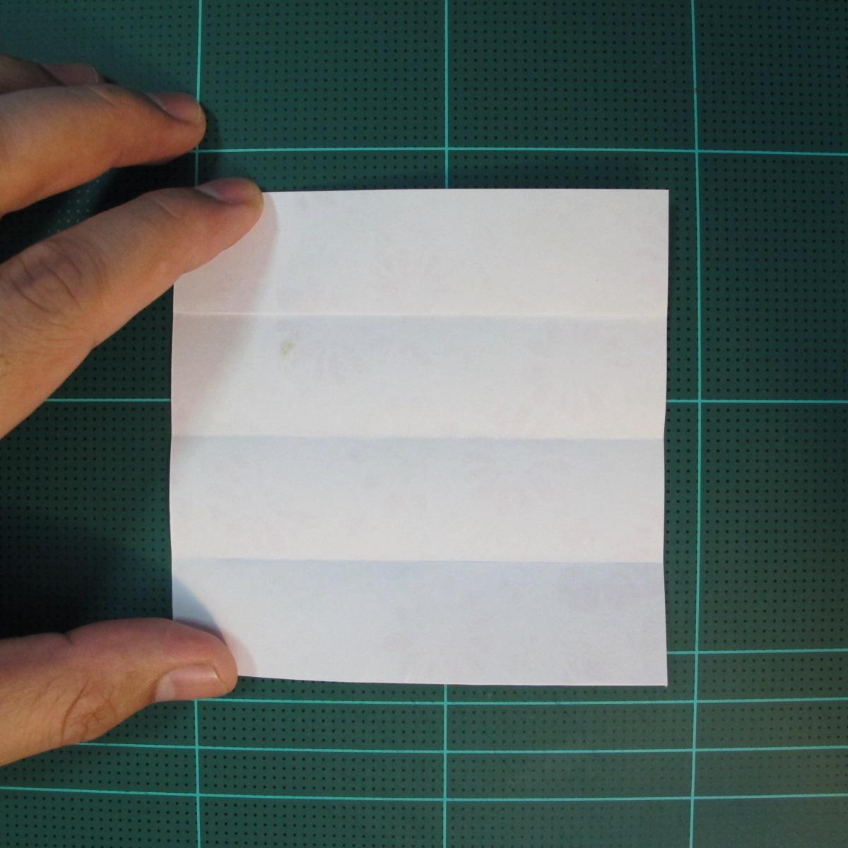 การพับกระดาษเป็นรูปเรขาคณิตทรงลูกบาศก์แบบแยกชิ้นประกอบ (Modular Origami Cube) 005