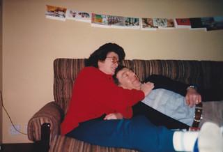Mum and Dad, Greenbank, Dec 1986