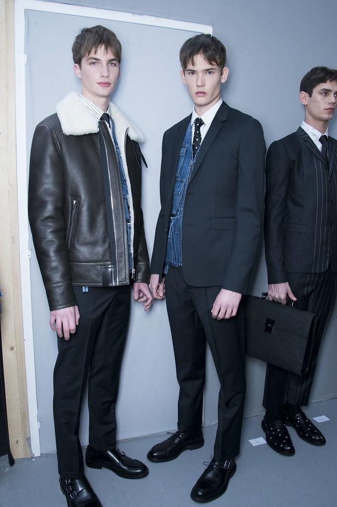 FW14 Paris Dior Homme218_Jan Purski, Felix Riess, Arthur Gosse(fashionising.com)