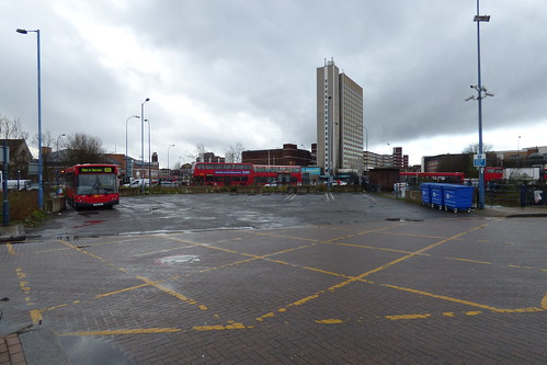 Lewisham Bus Station's final day 005