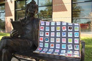 Mark Twain loves a cute quilt, too