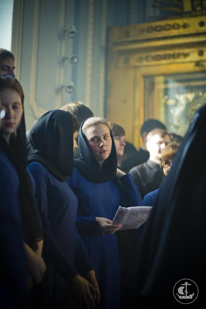12 марта 2014, Литургия Преждеосвященных Даров / 12 March 2014, Divine Liturgy of the Presanctified Gifts